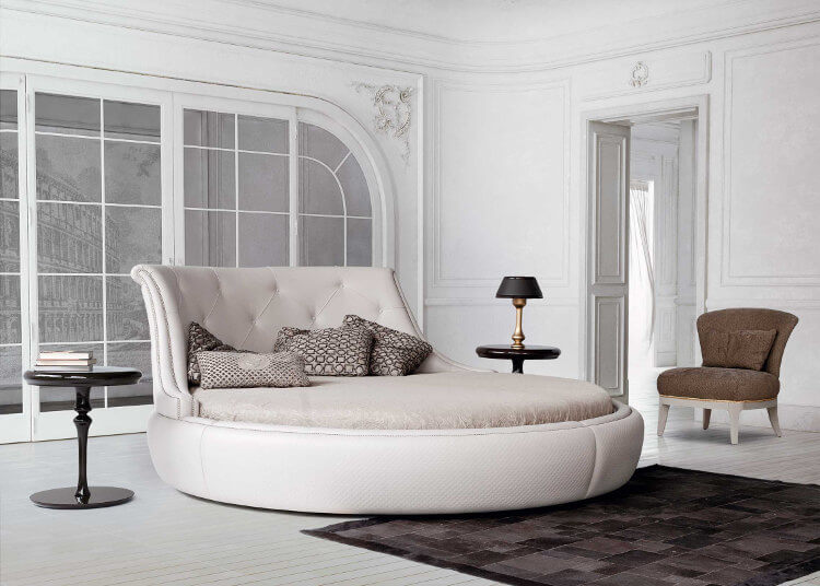 Check our modern double bedroom for Cama redondas