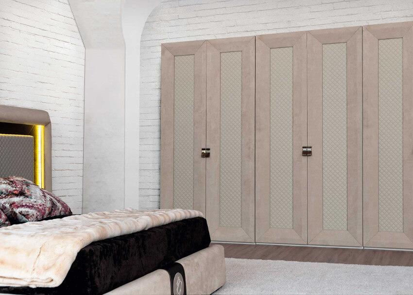 Modern style bedroom at best price - Dormitorio beige ...