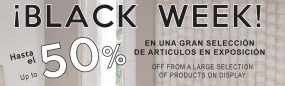 Hasta un 50% en la Black Week de Casasola Muebles