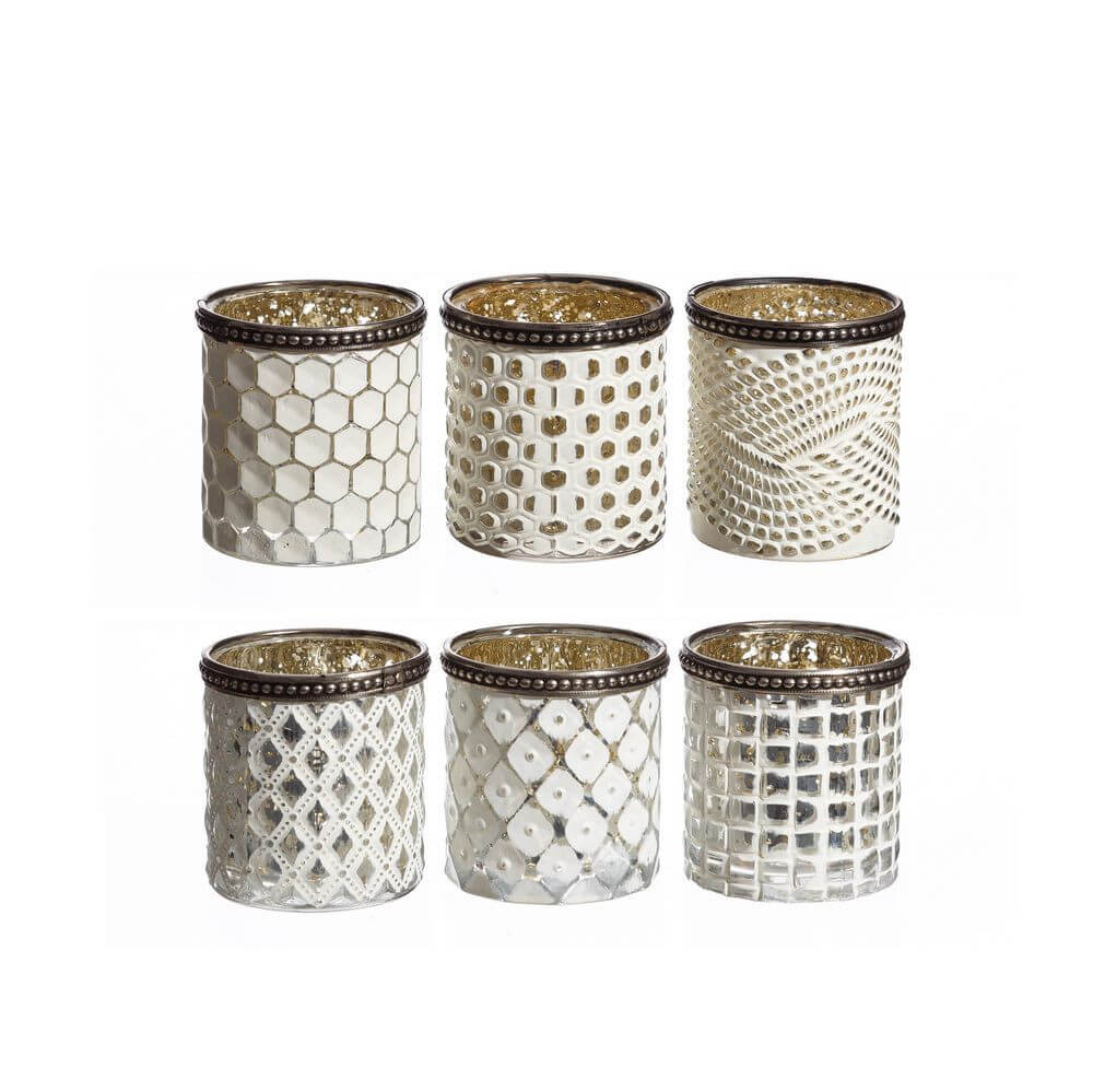 Set 6 Candle Holder Muebles Casasola # Gebrauchte Muebles