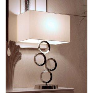 34YF4175 LAMPARA ACERO PULIDO